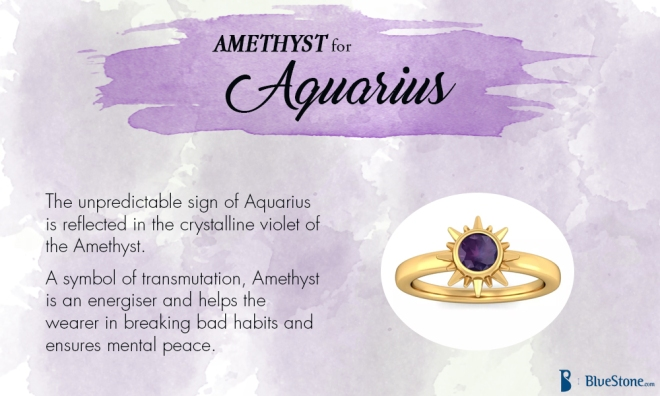 Aquarius - Amethyst