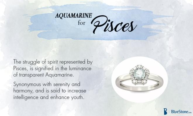 Pisces - Aquamarine