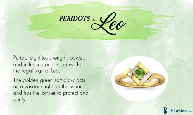 Leo - Peridot