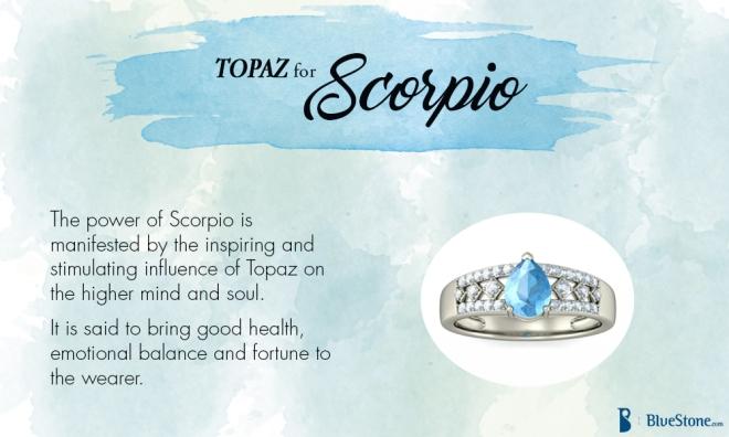 Scorpio - Topaz